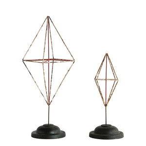 Geometric Diamond Decor, 2 Styles