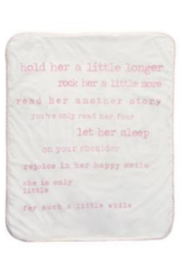 Little Girl Sherpa Blanket