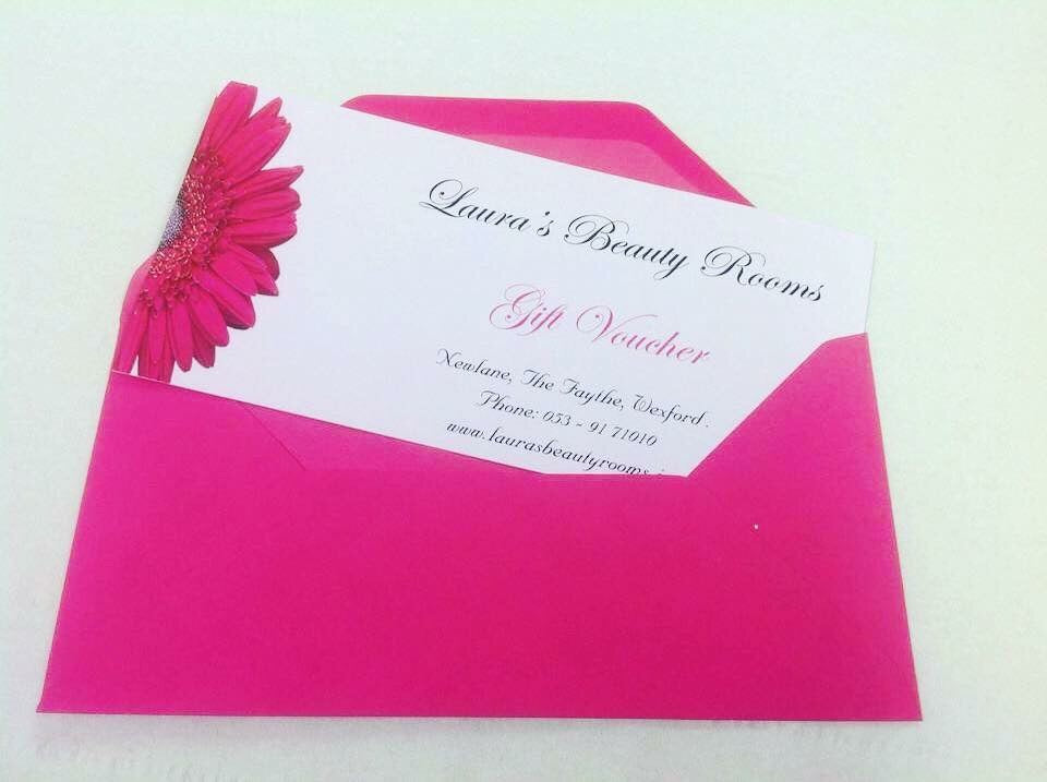 Laura's Beauty Rooms Gift Voucher