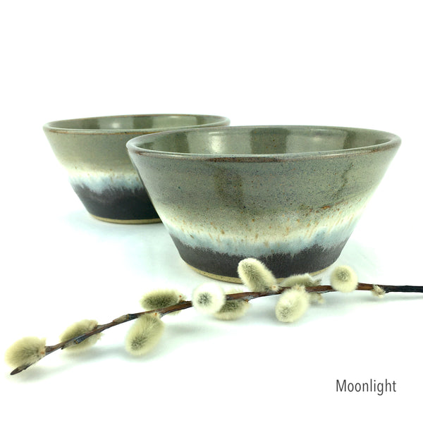 "WHEEL THROWN DINNERWARE COLLECTION / 6"" X 3"" Bowl / MADE TO ORDER"