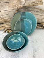 16 Pieces / 4 Place Settings / ABSTRACT DINNERWARE COLLECTION Ready to Ship -