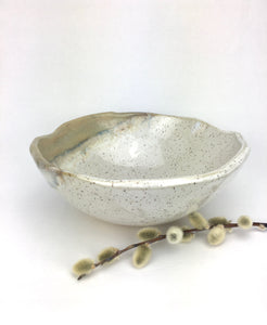 "7x4"" Abstract Bowls in 'Frost'"