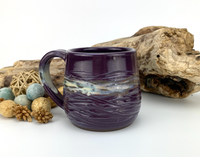 12oz MUG glazed in 'GrapeVine'          (03142021-01e)