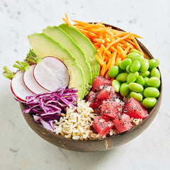 Fresh Tuna Poke Coconut Bowl