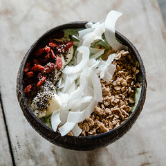 Green Smoothie Coconut Bowl