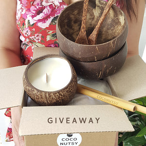 Jumbo Coconut Bowl Gift Set Giveaway