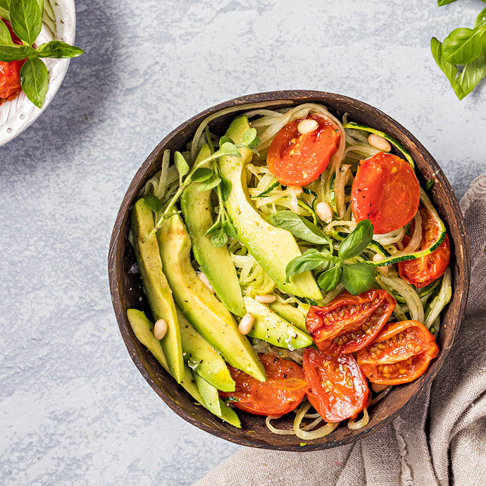 Zoodles with Creamy Avocado Sauce