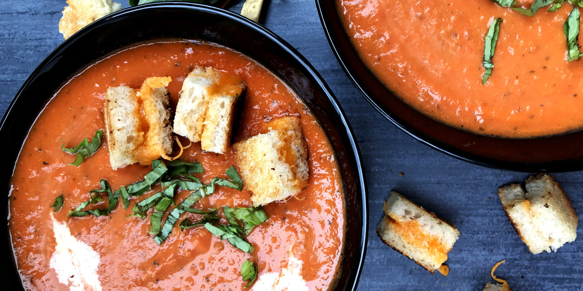 Roasted Tomato Soup Coconut Bowl