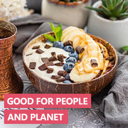 Coconut Bowls are good for the planet