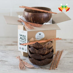 Coconut plates gift set