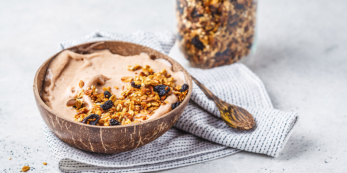 Coconut Bowls with Granola
