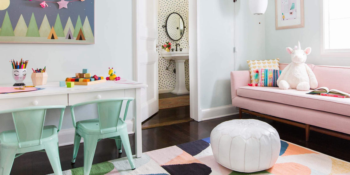 Coconut Bowl Playroom