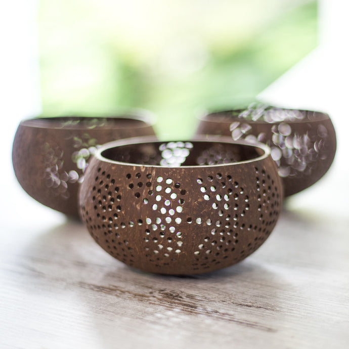 Wholesale Coconut Shell Candle Holder