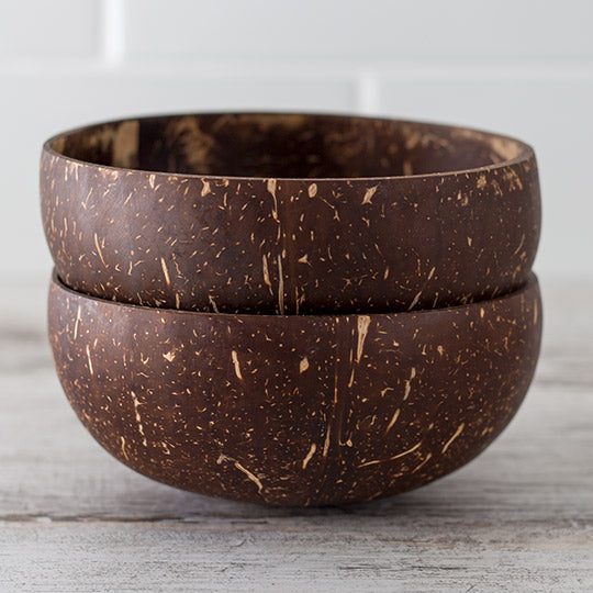 Coconut Bowls Set of Two
