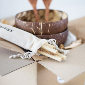 Eco Friendly Coconut Bowl Gift Set