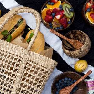 Sustainable picnic hamper