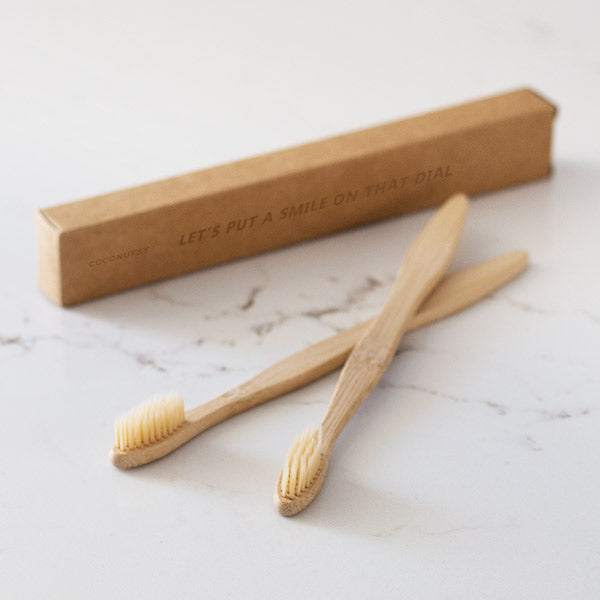 Eco Friendly Bamboo Toothbrush Set