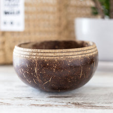 Load image into Gallery viewer, Boho Inspired Coconut Bowl