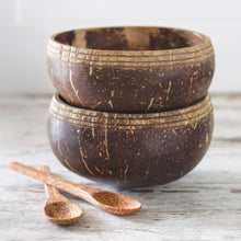 Load image into Gallery viewer, Boho Coconut Bowls