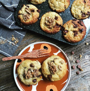 Coconut Fork with Muffins