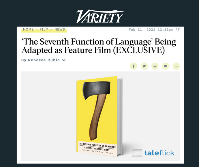 'The Seventh Function of Language' Being Adapted as Feature Film (Variety)