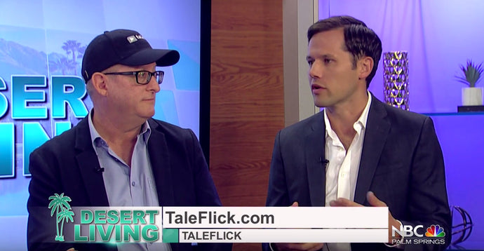 TaleFlick's Co-Founders talk to NBC KMIR