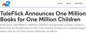 One Million Books for One Million Children