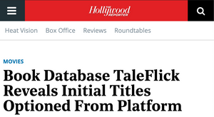 Book Database TaleFlick Reveals Initial Titles Optioned From Platform