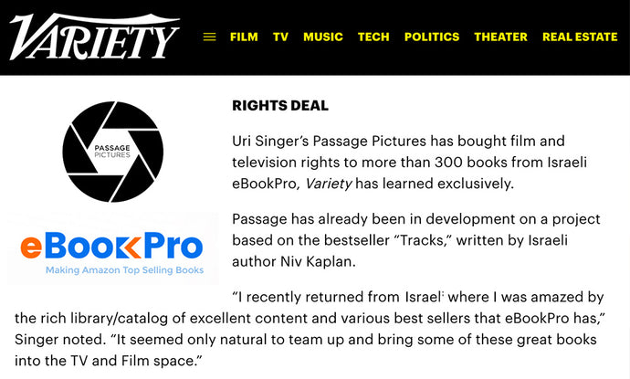 Rights deal with eBookPro