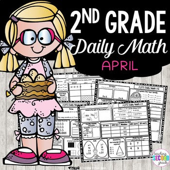 April Morning Work | Daily Math