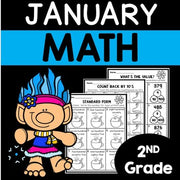 January Math Worksheets