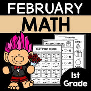 February Worksheets for 1st Grade