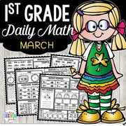 Morning Work March | First Grade