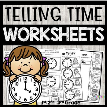 Telling Time Worksheets 2nd Grade