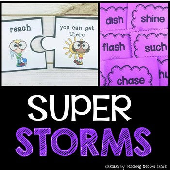 Super Storms 2nd Grade Journeys