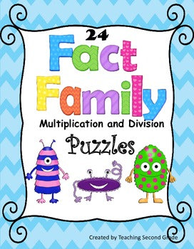 Fact Families Multiplication and Division