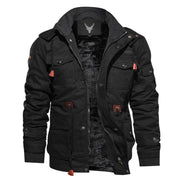 Denzell Outwear Tactical Cotton Jacket Denzell Outwear Black XS