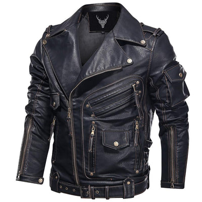Denzell Outwear Bonanza Leather Jacket Denzell Outwear