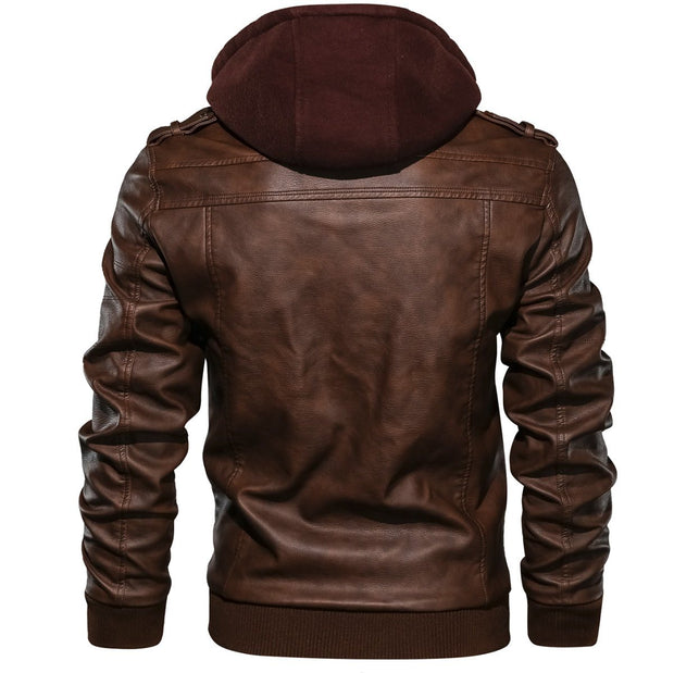 Denzell Outwear Anarchist Leather Jacket Denzell