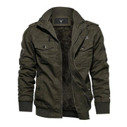 Denzell Outwear Army Jacket Denzell Outwear DarkGreen XS