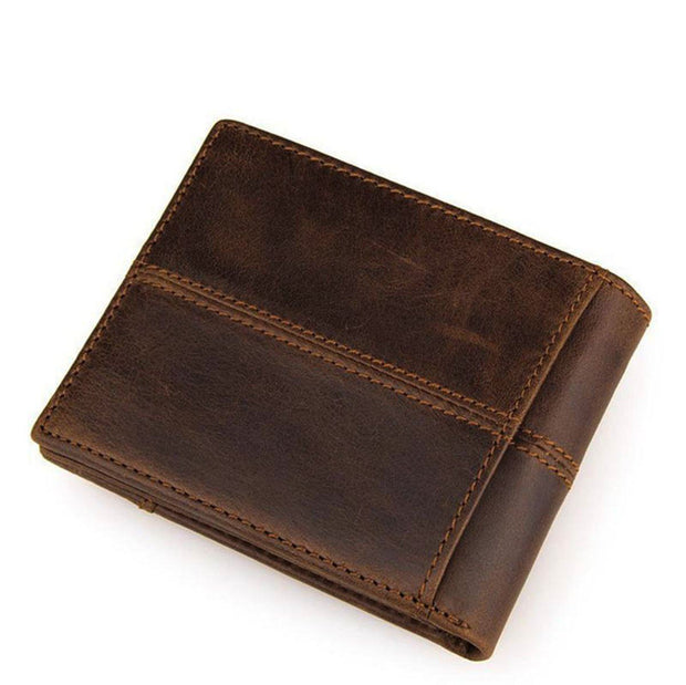 Denzell Outwear Bi-Fold Leather Wallet Denzell Outwear