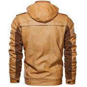 Denzell Outwear Rough Rider Leather Jacket Denzell Outwear