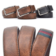 Denzell Outwear Vintage Style Leather Belt Denzell Outwear