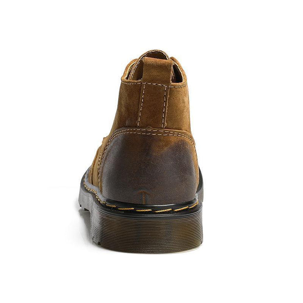 Denzell Outwear Vintage Leather Boots Denzell Outwear