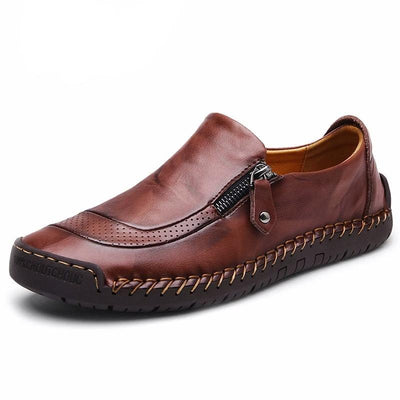 Denzell Outwear Classic Moccasins Denzell Outwear SaddleBrown US 6.5 / EU 38