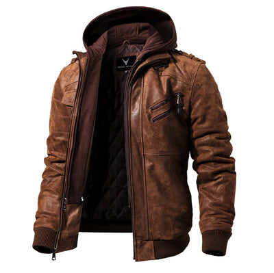 Denzell Outwear Pure Leather Jacket Denzell Sienna XS