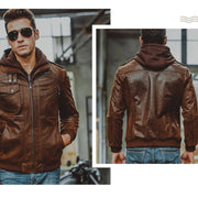 Denzell Outwear Pure Leather Jacket Denzell