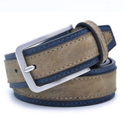 Denzell Outwear Trimmed Leather Belt Denzell Outwear BurlyWood 39inches - 100cm