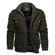 Denzell Outwear Tactical Cotton Jacket Denzell Outwear