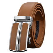 Denzell Outwear Chrome Mission Leather Belt Denzell Outwear SaddleBrown 43inches - 110cm